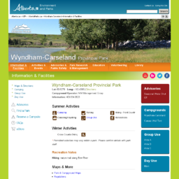 Wyndham-Carseland Provincial Park